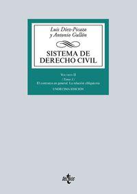 (11 Ed) Sistema De Derecho Civil Ii - Tomo 1 - El Contrato En General - La Relacion Obligatoria - Luis Diez-Picazo / Antonio Gullon