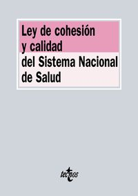 Ley De Cohesion Y Calidad Del Sistema Nacional De Salud - Aa. Vv.