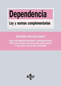 dependencia - ley y normas complementarias - Aa. Vv.