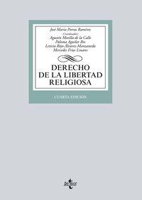 (4 Ed) Derecho De La Libertad Religiosa - J. M. Porras Ramirez (coord. )