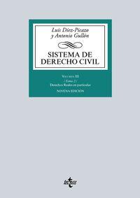 (9 Ed) Sistema De Derecho Civil Iii - Tomo 2 - Derechos Reales En Particular - Luis Diez-Picazo / Antonio Gullon