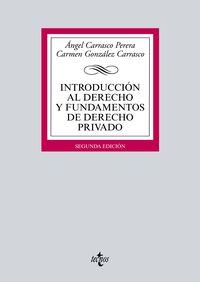 (2 ED) INTRODUCCION AL DERECHO Y FUNDAMENTOS DE DERECHO PRIVADO