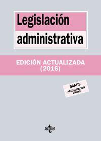(19 Ed) Legislacion Administrativa - Aa. Vv.