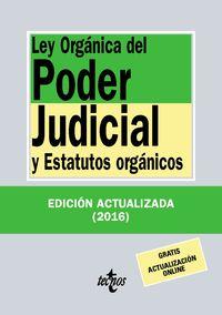 (32 Ed) Ley Organica Del Poder Judicial - Aa. Vv.