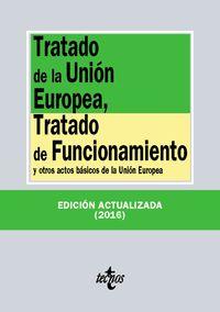 (20 ED) TRATADO DE LA UNION EUROPEA, TRATADO DE FUNCIONAMIENTO