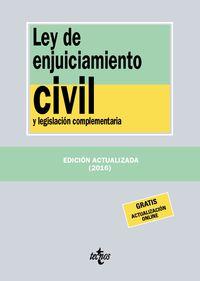 (20 Ed) Ley De Enjuiciamiento Civil - Aa. Vv.