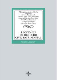 (2 ED) LECCIONES DE DERECHO CIVIL PATRIMONIAL