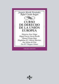 (3 ED) CURSO DE DERECHO DE LA UNION EUROPEA