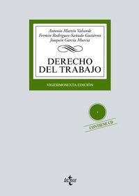 (26 Ed) Derecho Del Trabajo - Antonio Martin Valverde / Fermin Rodriguez-Sañudo Gutierrez / Joaquin Garcia Murcia