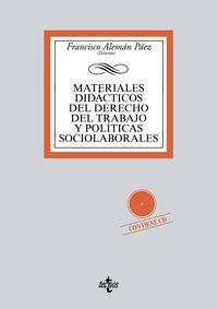 MATERIALES DIDACTICOS DEL DERECHO DEL TRABAJO Y POLITICAS SOCIOLABORALES