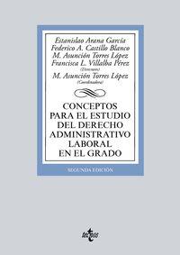 (2 ED) CONCEPTOS PARA EL ESTUDIO DEL DERECHO ADMINISTRATIVO LABORAL
