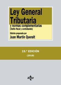 (19 Ed) Ley General Tributaria Y Normas Complementarias - Aa. Vv.