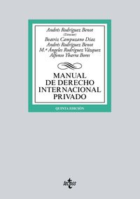 (5 ED) MANUAL DE DERECHO INTERNACIONAL PRIVADO
