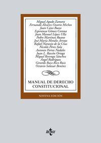 (9 ED) MANUAL DE DERECHO CONSTITUCIONAL