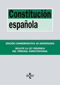 (22 Ed) Constitucion Española (ed. 40 Aniversario) - Aa. Vv.