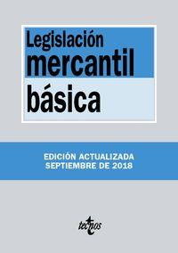 (15 Ed) Legislacion Mercantil Basica - Aa. Vv.