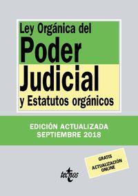 (34 Ed) Ley Organica Del Poder Judicial - Aa. Vv.