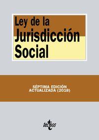 (7 Ed) Ley De La Jurisdiccion Social - Aa. Vv.