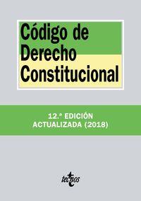 (12 ED) CODIGO DE DERECHO CONSTITUCIONAL