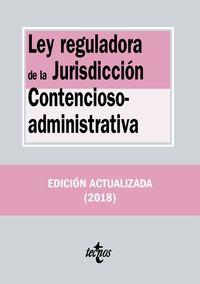 (20 Ed) Ley Reguladora De La Jurisdiccion Contencioso-Administrativa - Aa. Vv.