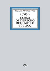 CURSO DE DERECHO DEL EMPLEO PUBLICO
