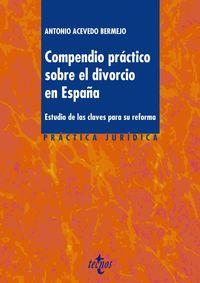 Compendio Practico Sobre El Divorcio En España - Antonio Acevedo Bermejo