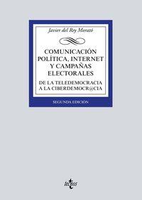 (2 Ed) Comunicacion Politica, Internet Y Campañas Electorales - Javier Del Rey Morato