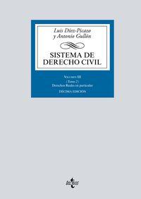 (10 ed) sistema de derecho civil iii - tomo 2 - derechos reales en particular - Luis Diez-Picazo / Antonio Gullon