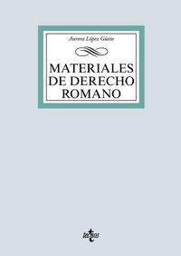 MATERIALES DE DERECHO ROMANO