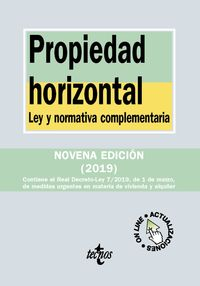 (9 Ed) Propiedad Horizontal - Ley Y Normativa Complementaria - Aa. Vv.