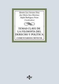 Temas Clave De La Filosofia Del Derecho Y Politica - Comentarios Criticos - Ramon Luis Soriano Diaz / Jose Maria Seco Martinez / [ET AL. ]