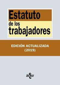 (35 ED) ESTATUTO DE LOS TRABAJADORES