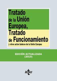 (23 Ed) Tratado De La Union Europea, Tratado De Funcionamiento - Y Otros Actos Basicos De La Union Europea - Aa. Vv.
