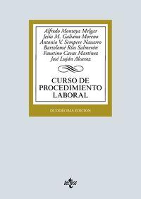(12 ED) CURSO DE PROCEDIMIENTO LABORAL
