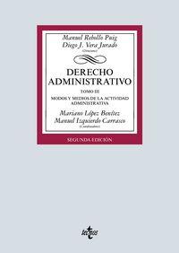(2 ED) DERECHO ADMINISTRATIVO III