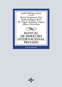 (6 ED) MANUAL DE DERECHO INTERNACIONAL PRIVADO