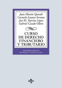 (30 ED) CURSO DE DERECHO FINANCIERO Y TRIBUTARIO