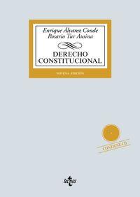 (9 ed) derecho constitucional - Enrique Alvarez Conde / Rosario Tur Ausina