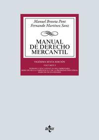 (26 ED) MANUAL DE DERECHO MERCANTIL I