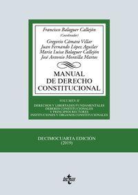 (14 ED) MANUAL DE DERECHO CONSTITUCIONAL II
