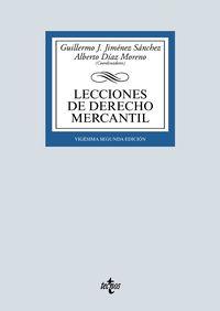 (22 ED) LECCIONES DE DERECHO MERCANTIL