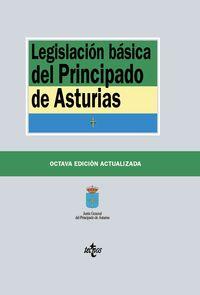 (8 ed) legislacion basica del principado de asturias - Aa. Vv.