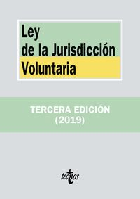 (3 Ed) Ley De La Jurisdiccion Voluntaria - Aa. Vv.