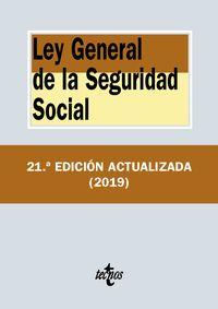 (21 ED) LEY GENERAL DE LA SEGURIDAD SOCIAL