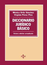 (8 ED) DICCIONARIO JURIDICO BASICO