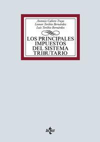 PRINCIPALES IMPUESTOS DEL SISTEMA TRIBUTARIO, LOS - IRPF, IMPUESTO DE SOCIEDADES E IVA