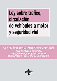 (14 ED) LEY SOBRE TRAFICO - CIRCULACION DE VEHICULOS A MOTOR Y SEGURIDAD VIAL