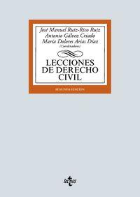 (2 ED) LECCIONES DE DERECHO CIVIL