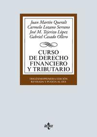 (31 ED) CURSO DE DERECHO FINANCIERO Y TRIBUTARIO