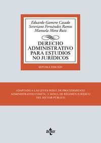 (7 ED) DERECHO ADMINISTRATIVO PARA ESTUDIOS NO JURIDICOS